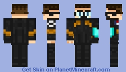 SGA S5 Uniform JamesTDG | Entrant in The Great War: Skin Contest - The Atlantean Kingdom Minecraft Skin