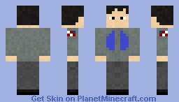 Stargate Atlantis Science suit Minecraft Skin