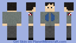 Stargate Atlantis random Scientist Minecraft Skin