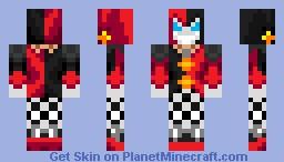 Shaco The Demon Jester Minecraft Skin