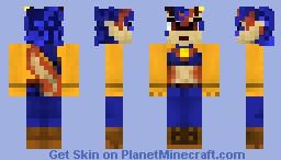 Carmelita Fox Minecraft Skin