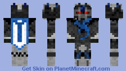 Dragon Knight - Blue Minecraft Skin