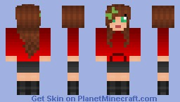 Cute girl Shading test Minecraft Skin