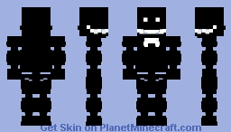 RXQ .. but with a glowing bowtie, and more teeth. Minecraft Skin
