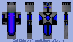 Shadow warrior Minecraft Skin