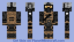 Shadow Company Marine Minecraft Skin