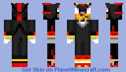 Shadow ( From  Sonic ) Minecraft Skin