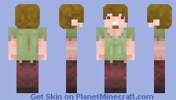 Shaggy Rogers (Scooby Doo) Minecraft Skin