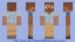 Shane (From The Walking Dead) Minecraft