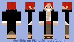 Shanks Minecraft Skin