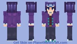 "Reginald ""Shark"" Kastle/ Ryoga Kamishiro (yugioh ZEXAL) Minecraft Skin"