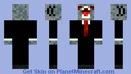 markus shark in a suit skin {{contest}} diamond if you like it Minecraft Skin
