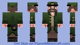 Union Sharpshooter In Coat Minecraft Skin