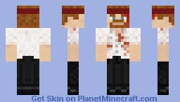 Shaun from Shaun of the Dead (After Outbreak) Minecraft