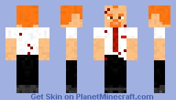 Shaun of the Dead Minecraft Skin