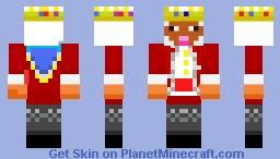 Sheep in Technoblade costume Minecraft Skin