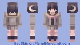sheepy schoolgirl (request) Minecraft Skin