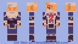 Sheik - The Legend of Zelda: Ocarina of Time Minecraft Skin