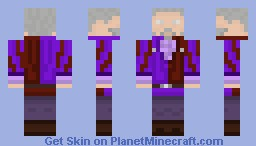 Sheogorath (Skyrim) Minecraft Skin
