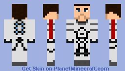 White Shepard Minecraft Skin