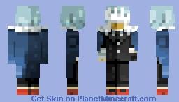 Shigaraki Tomura -grand commander outfit- (MHA) Minecraft Skin