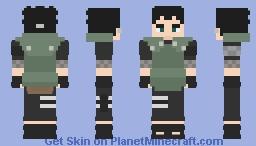 Shikadai Nara [Chunin #01] [Boruto: Naruto Next Generations] [E se...?] Minecraft Skin