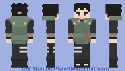 Shikadai Nara [Chunin #02] [Boruto: Naruto Next Generations] [E se...?] Minecraft Skin