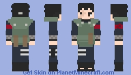 Shikamaru Nara [Older] [Jonin-sensei] [Boruto] [What if...?] Minecraft Skin