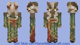   Shi'lei Ara   Oriental Tiefling   Minecraft Skin
