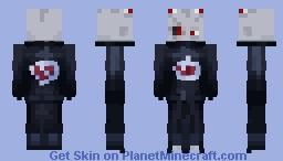 Shin Uchiha of the Akatuski Minecraft Skin