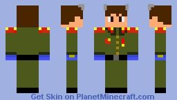 Evangelion Shinji Ikari (Reddit) Minecraft Skin