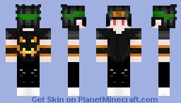 Shinobi Halloween skin (+Effects on the pants)! Minecraft Skin