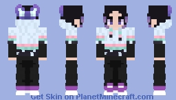 Shinobu Minecraft Skin