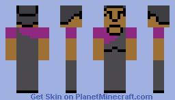 Shirley Bennet -- Community S03E20 Minecraft Skin