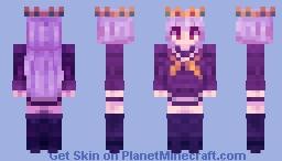 No game no life Shiro Minecraft Skin