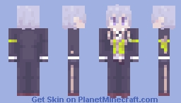 Silver | Twisted Wonderland Minecraft Skin