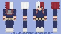 Shoto Todoroki | My Hero Academia Minecraft Skin