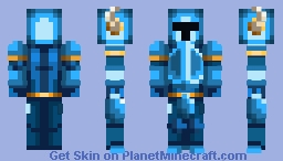Shovel Knight (Classic Design) Minecraft Skin
