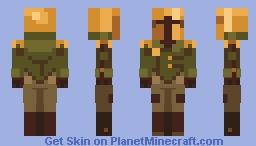 Shovel Knight - Propeller Knight Minecraft Skin