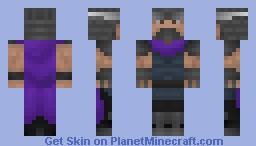 Oroku Saki, The Shredder (TMNT) Minecraft