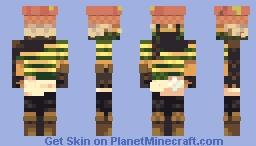 The mushroom thief Minecraft Skin