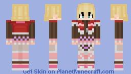 Shulk Xenoblade Chronicles Definitive skin Minecraft Skin
