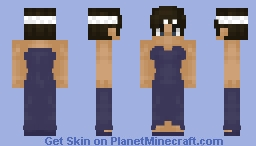 Shyouii in a dress - SKIN EDIT Minecraft Skin