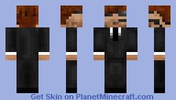 Secret Service james Minecraft Skin