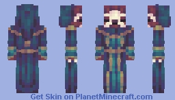 Silas the Sloth Wizard // CE Minecraft Skin