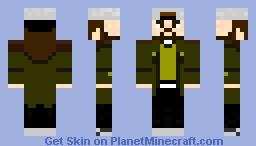 Silent Bob Minecraft Skin