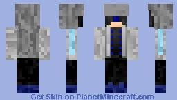 The Silver Fist (OC#2) Minecraft Skin
