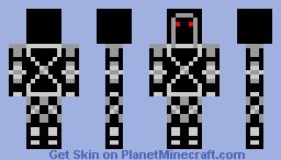 silver assassin Minecraft Skin