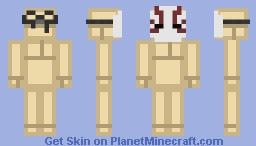 Blood Vein Mask Minecraft Skin