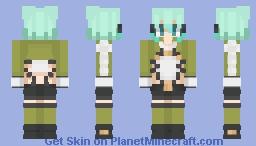 Sinon | Sword Art Online Minecraft Skin
